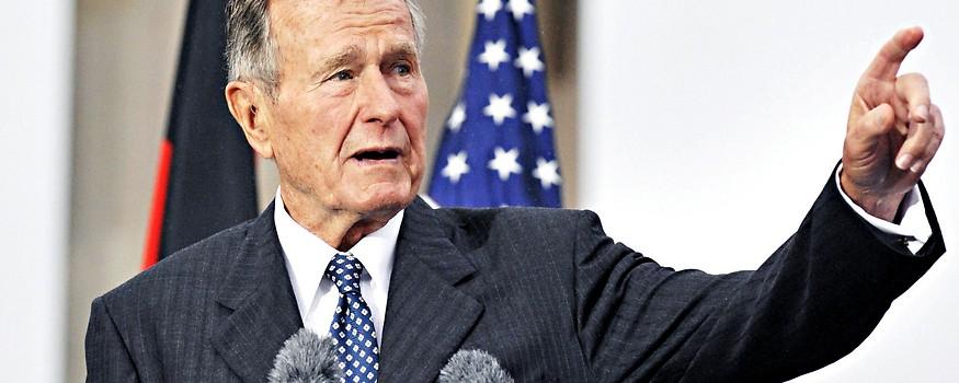 Ex-US-Präsident George H. W. Bush