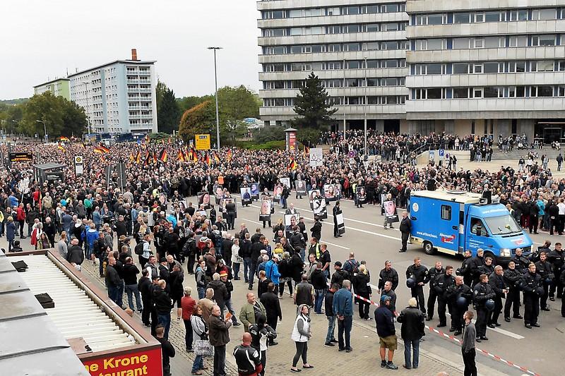 Haftbefehl Chemnitz Pegida