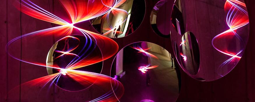 Kunstwerk am Ars Electronica Festival