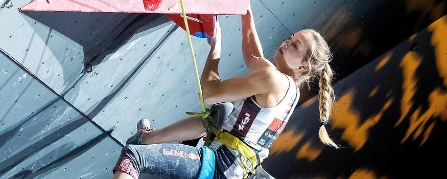 Kletterin Jessica Pilz