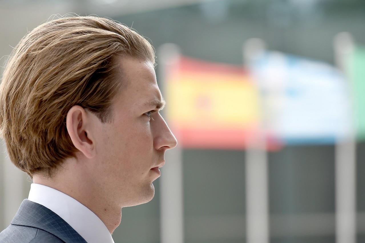 Außenminister Kurz in Luxemburg anlässlich des Treffens der EU-Außenminister 2015