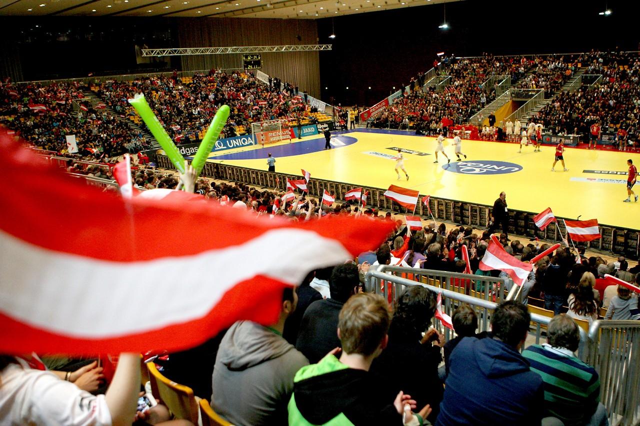 Výsledek obrázku pro wiener stadthalle handball