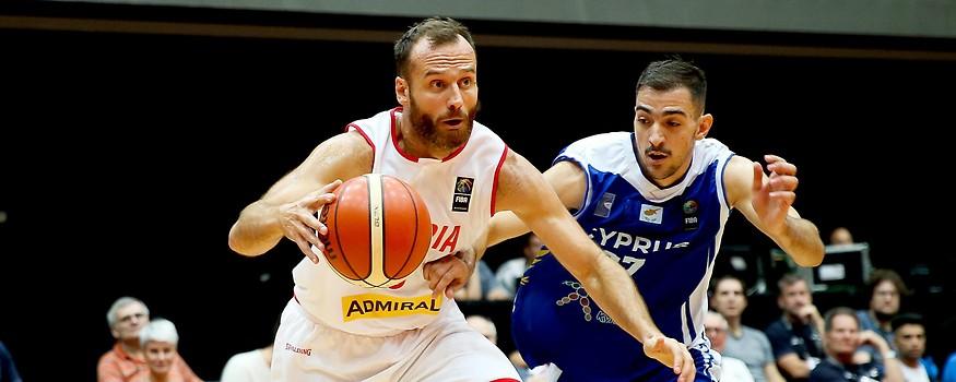 Enis Murati (AUT) und Panagiotis Markou (CYP)