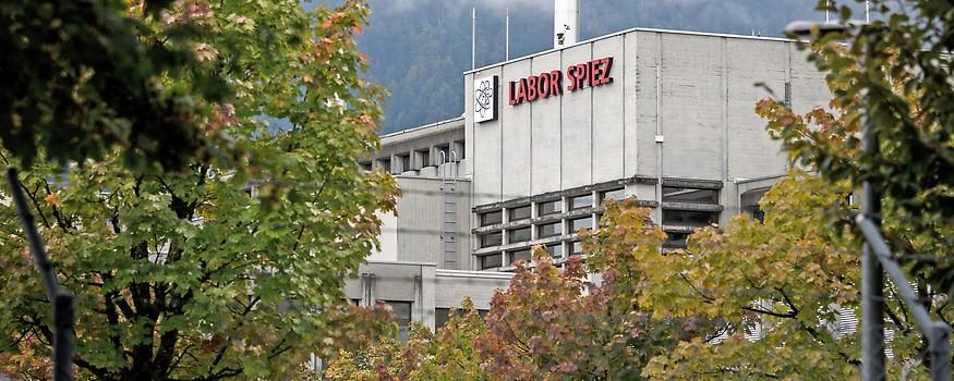 Labor in Spiez, Schweiz