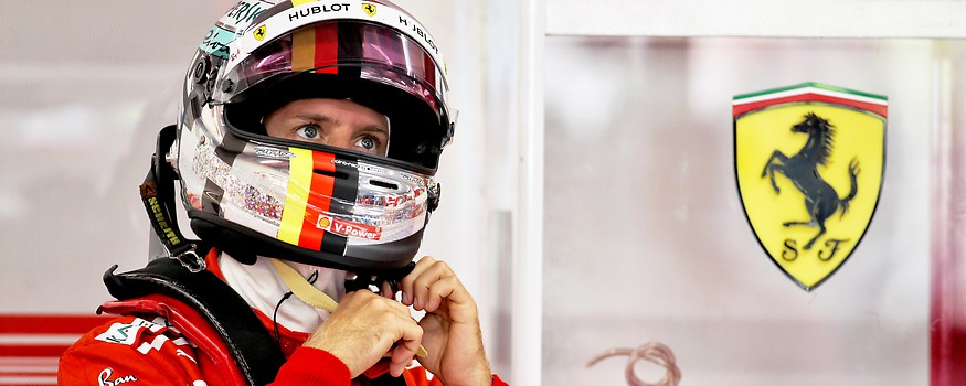 Sebastian Vettel (GER/ Ferrari)