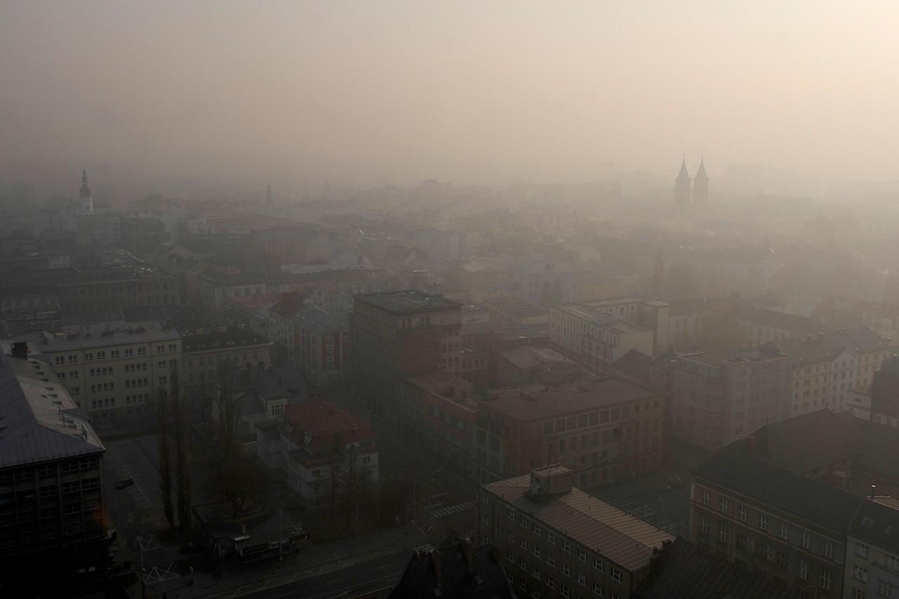 Smog über Ostrava