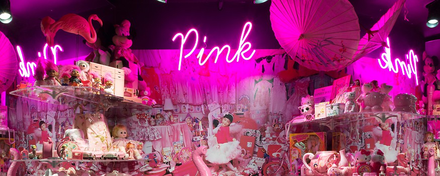 Pink: The  History  of  a  Punk,  Pretty,  Powerful  Color