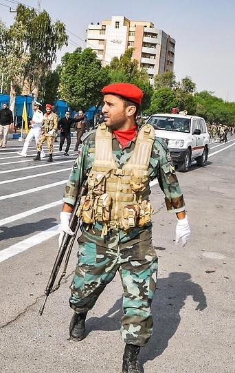 Anschlag auf eine Militärparade in der iranischen Stadt Ahwas