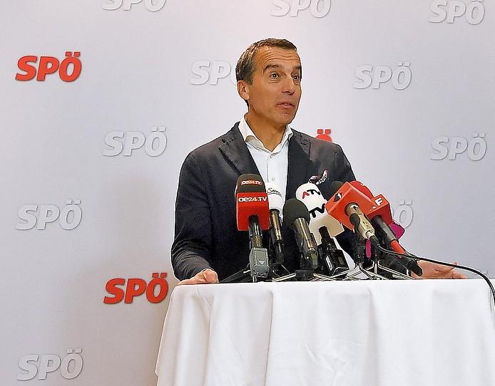 SPÖ-Bundesparteivorsitzende Christian Kern