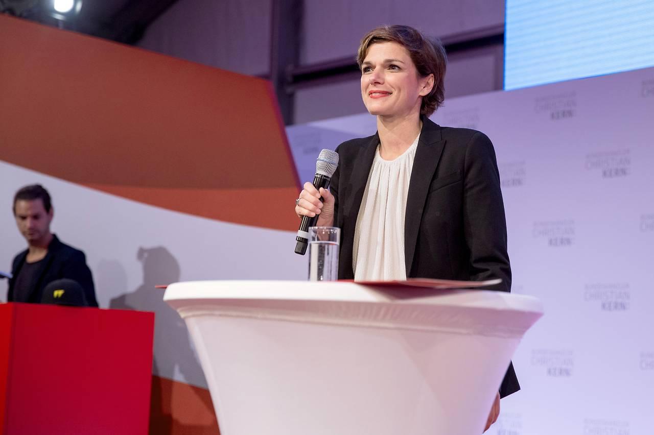 Die designierte SPÖ-Vorsitzende Pamela Rendi-Wagner