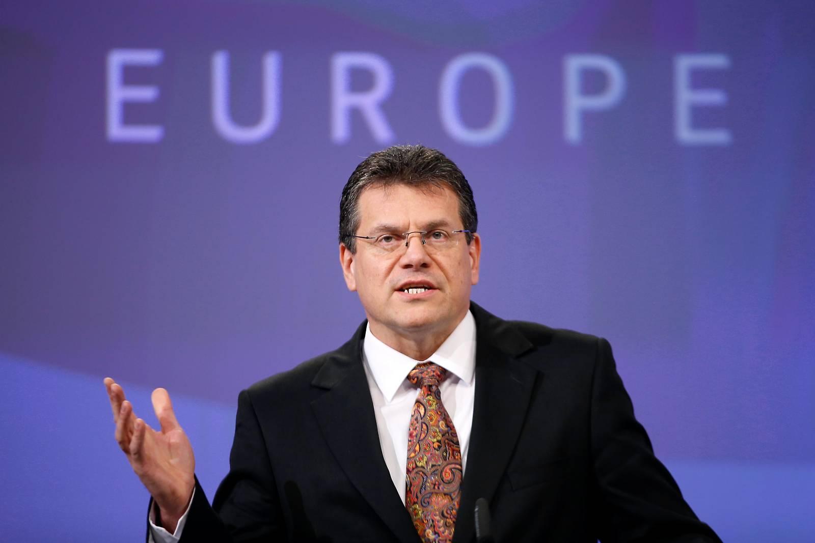 Sefcovic will neuer Kommissionspräsident werden