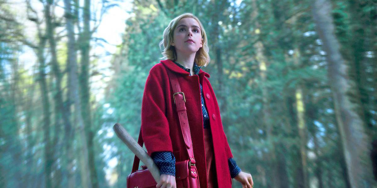 "Kiernan Shipka aus ""Chilling Adventures of Sabrina"""