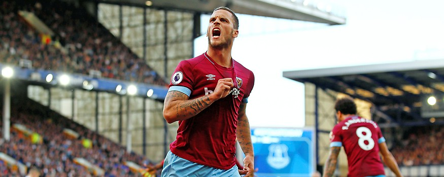 Jubel von Marko Arnautovic (West Ham United)