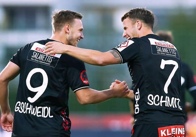 Bernd Gschweidl und Lukas Schmitz (WAC)