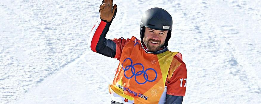 Snowboarder Markus Schairer