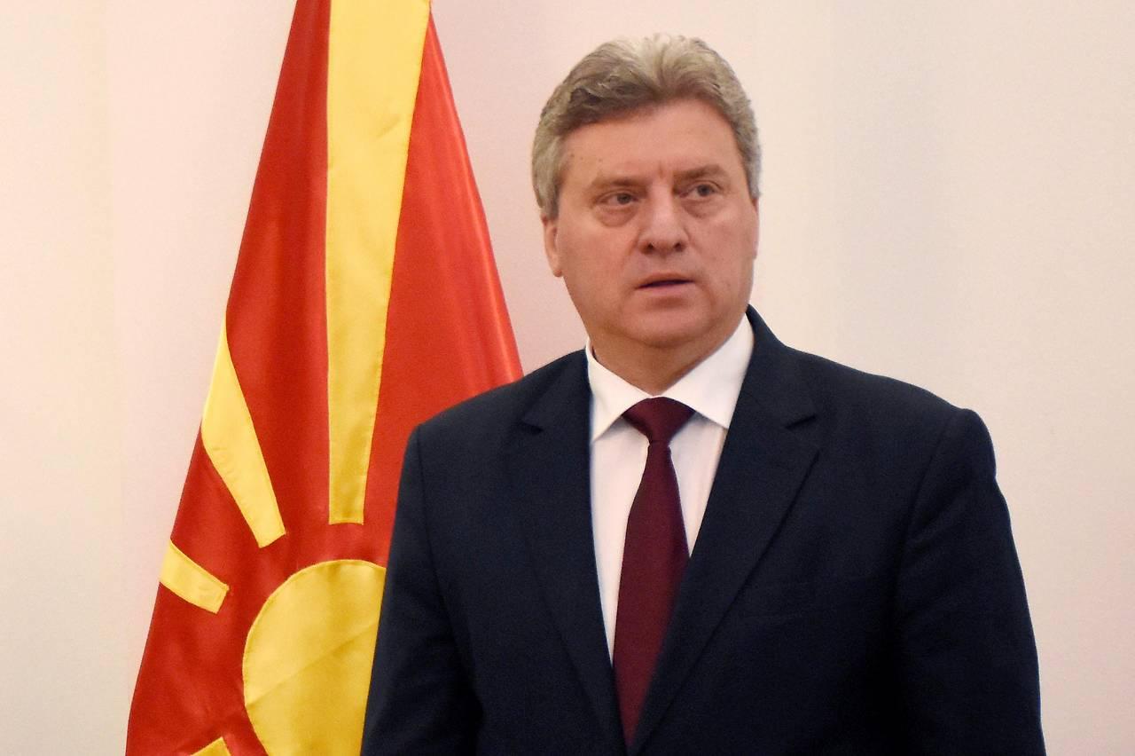 Der mazedonische Präsident Djordje Iwanow