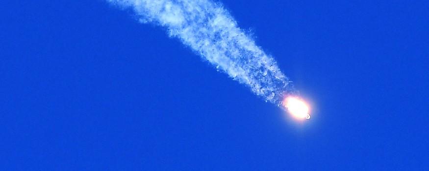 Booster der Sojus-Rakete