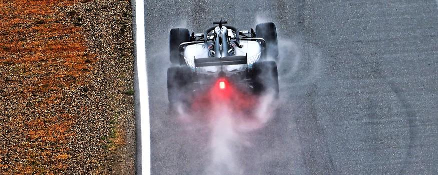 Ein Formel-1-Rennwagen