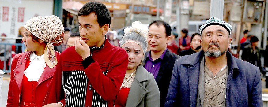 Uiguren in der autonomen Region Kashgar, Xinjiang in China