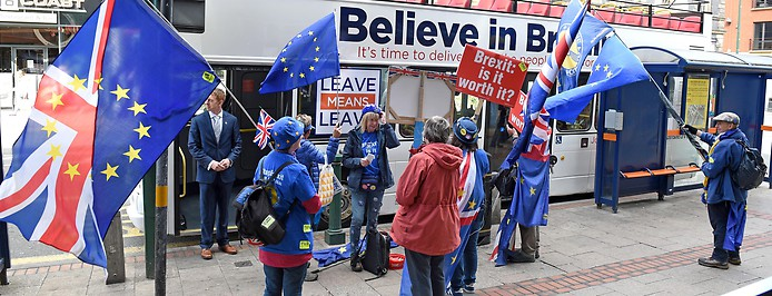 Anti-Brexit Demonstranten