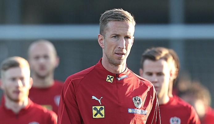 Marc Janko beim ÖFB-Training