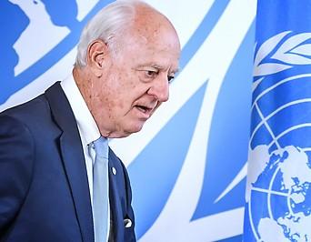 UN-Syrien-Gesandte Staffan de Mistura