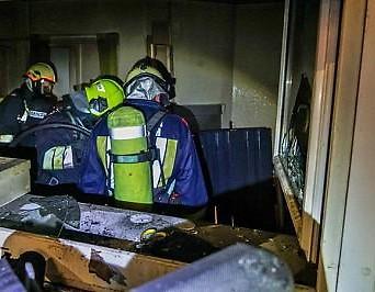 Feuerwehreinsatzkräfte