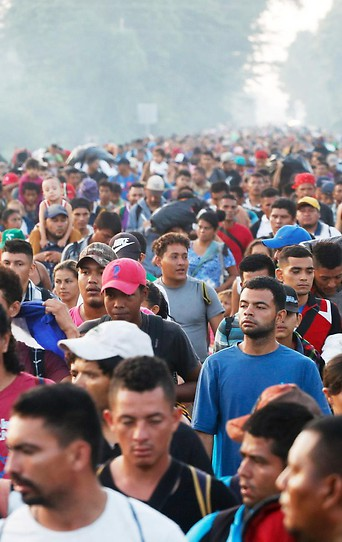 Zentralamerikanische Flüchtlinge