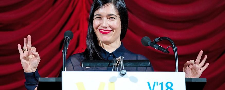 Viennale-Direktorin Eva Sangiorgi am Donnerstag