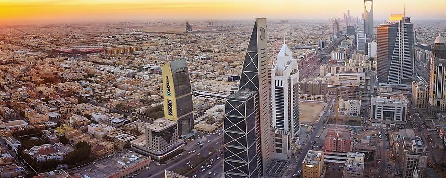 Blick über Riad