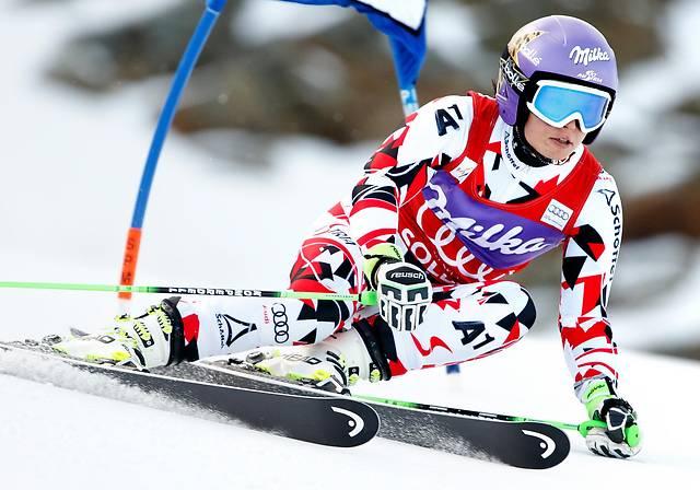ÖSV-Fahrerin Anna Veith