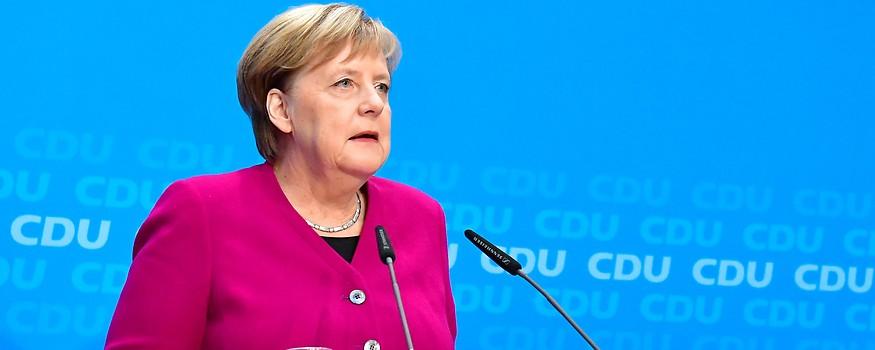 Deutsche Kanzlerin Merkel
