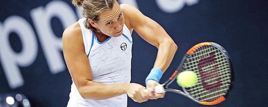 Die tschechische Tennisspielerin Barbora Strycova