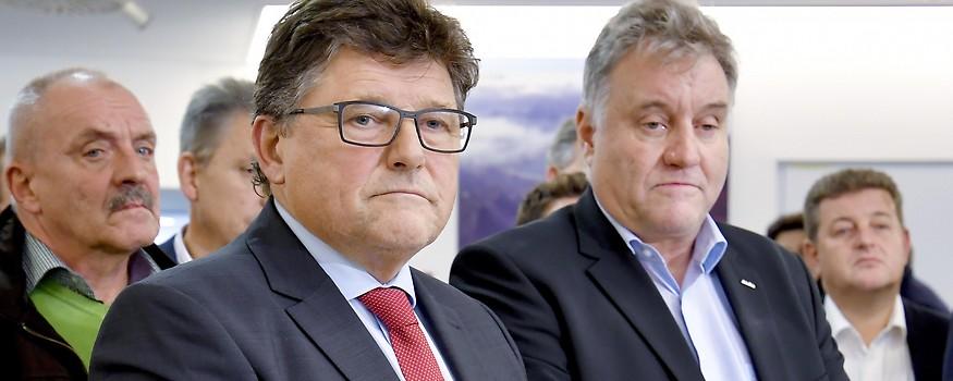 Rainer Wimmer und Karl Dürtscher