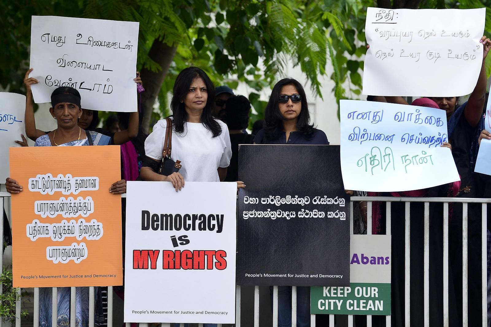 Politische Krise in Sri Lanka spitzt sich zu