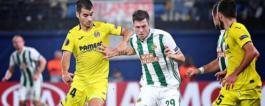 Ramiro Funes Mori (Villarreal) gegen Deni Alar (Rapid)