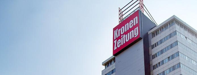 Redaktionsgebäude der Kronenzeitung