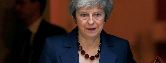 Großbritanniens Premierminister Theresa May