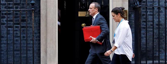 "Großbritanniens ""Brexit""-Minister Dominic Raab"