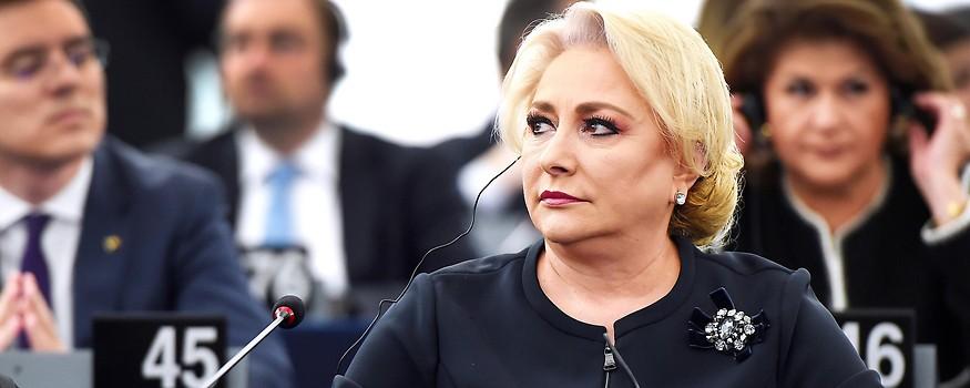 Rumäniens Ministerpräsidentin Viorica Dăncilă