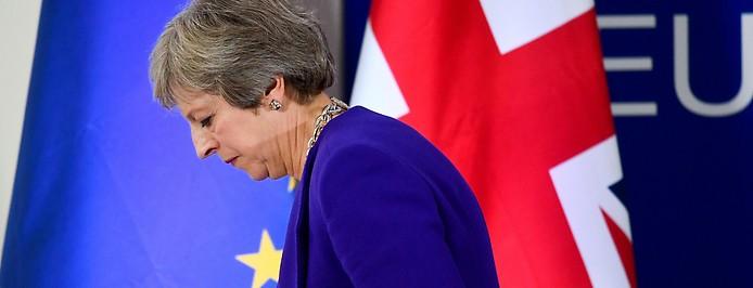 Die britische Premier-Ministerin Theresa May
