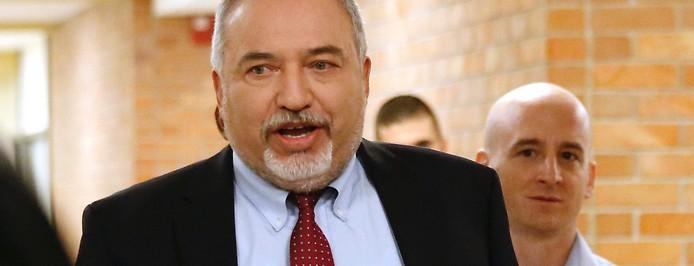 Der israelische Verteidigungsminister Avigdor Lieberman