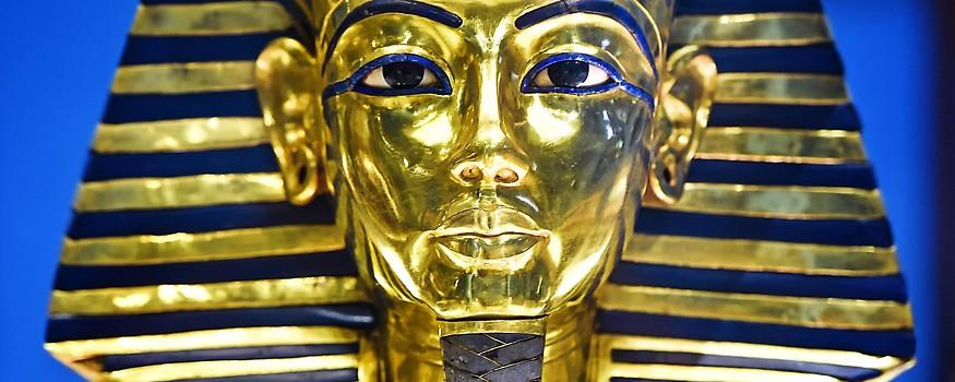 Die goldene Totenmaske Tutenchamuns