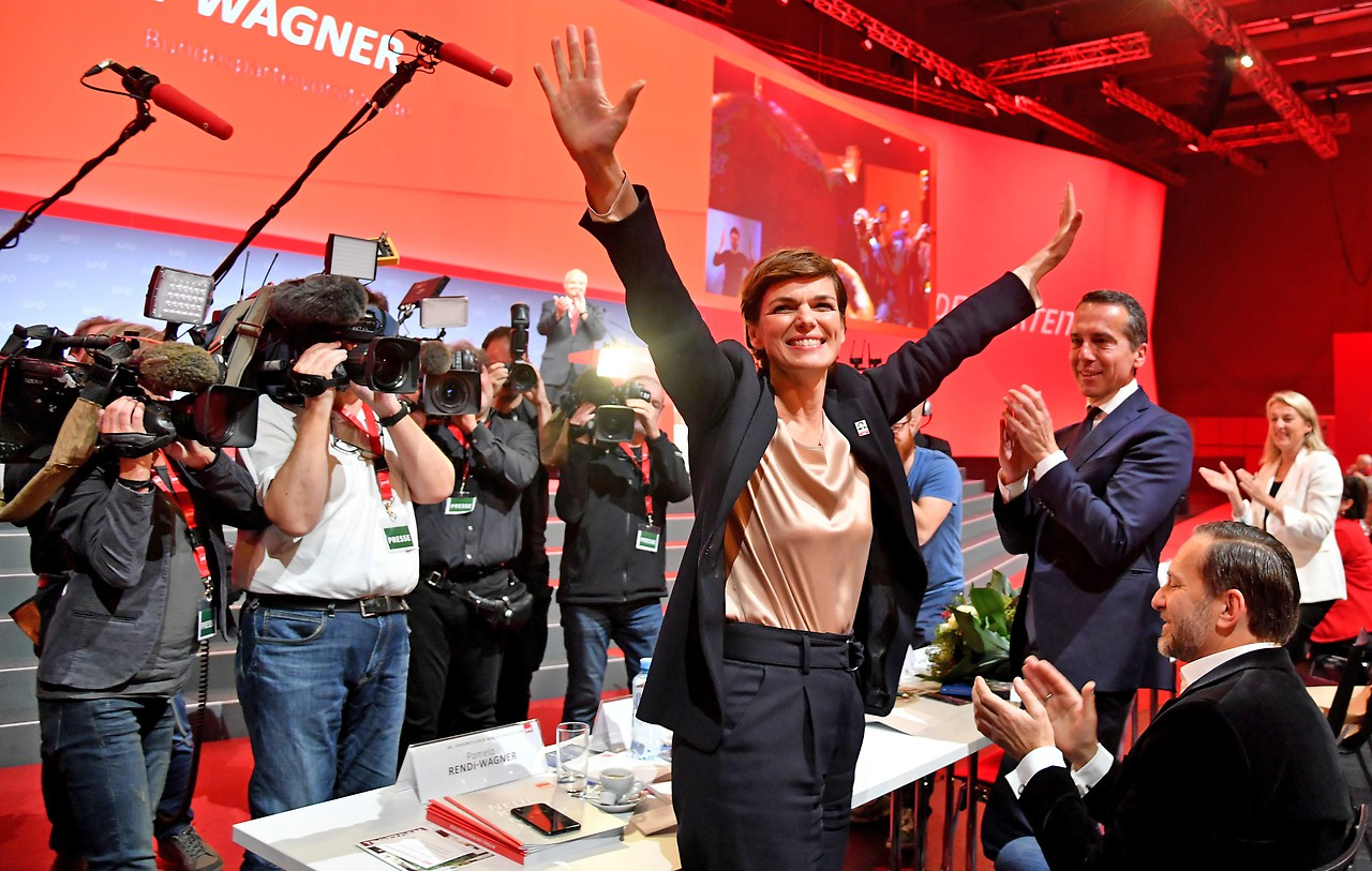 SPÖ-Bundesparteivorsitzende Pamela Rendi-Wagner
