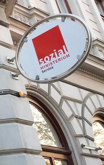 Sozialministerium in der Babenbergerstraße in Wien