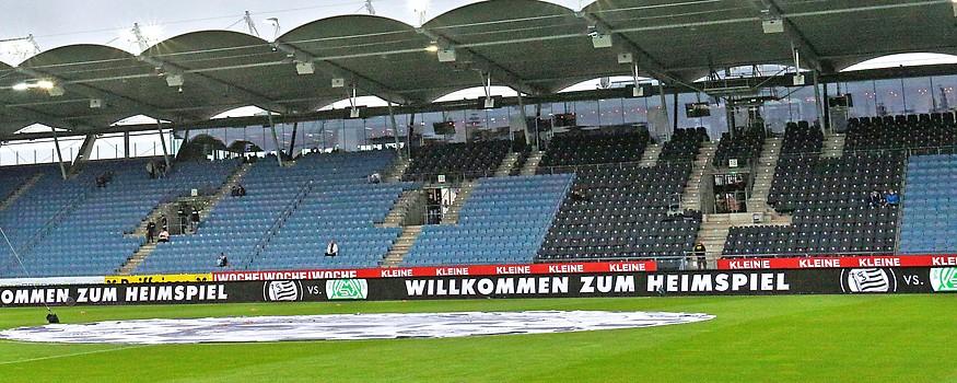 Leere Merkur Arena in Graz