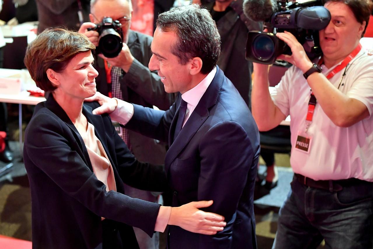 SPÖ-Bundesparteivorsitzende Pamela Rendi-Wagner und Alt-Parteichef Christian Kern