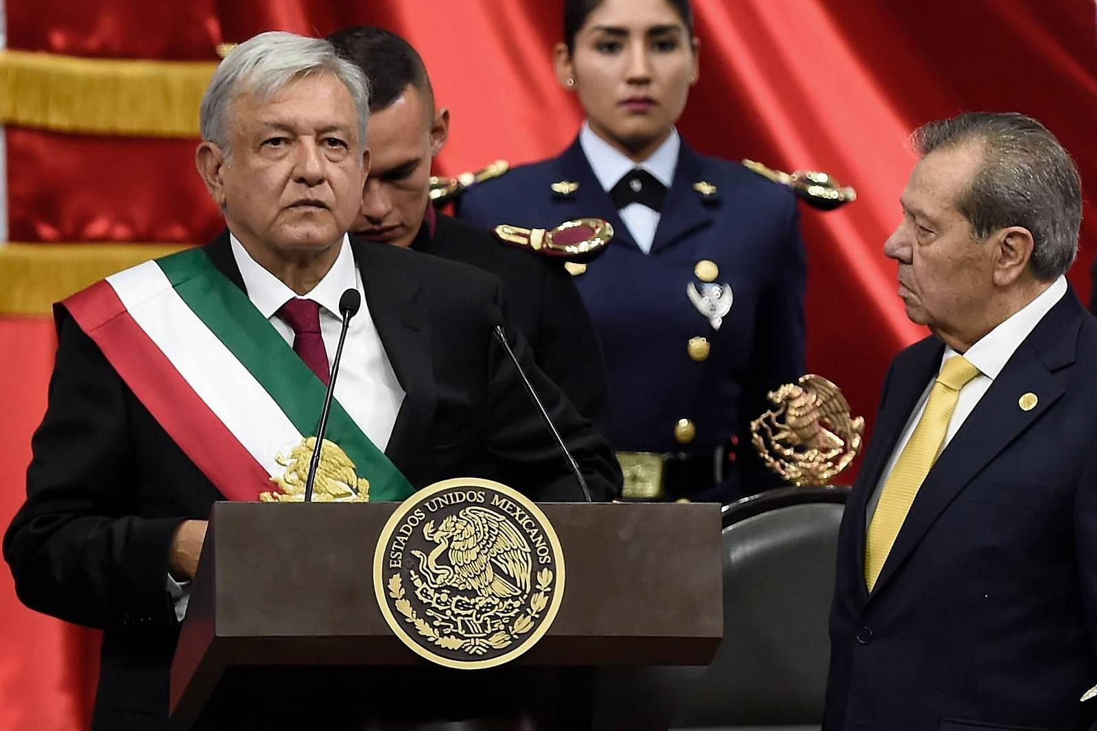 Neuer mexikanischer Präsident ins Amt eingeführt