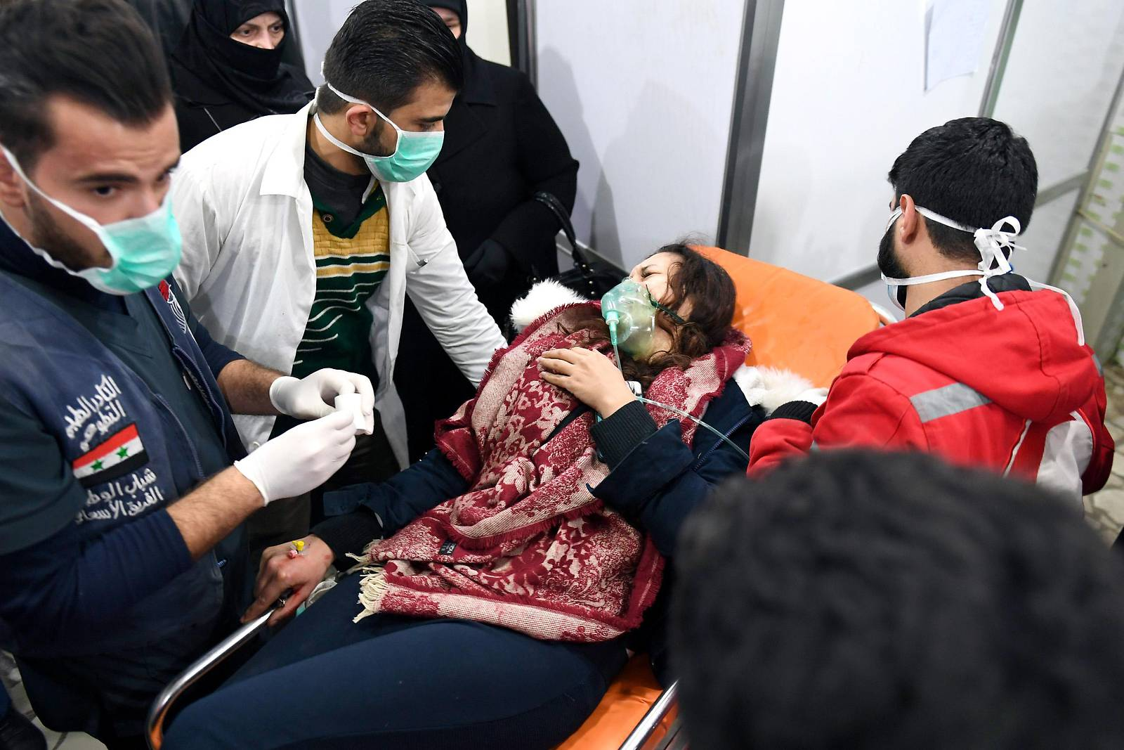 Staatsmedien: Mehr als 100 Verletzte durch Giftgas in Syrien