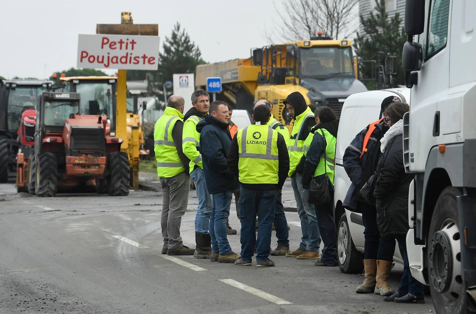"""""""Gelbwesten"""": Treffen mit französischer Regierung abgesagt"""